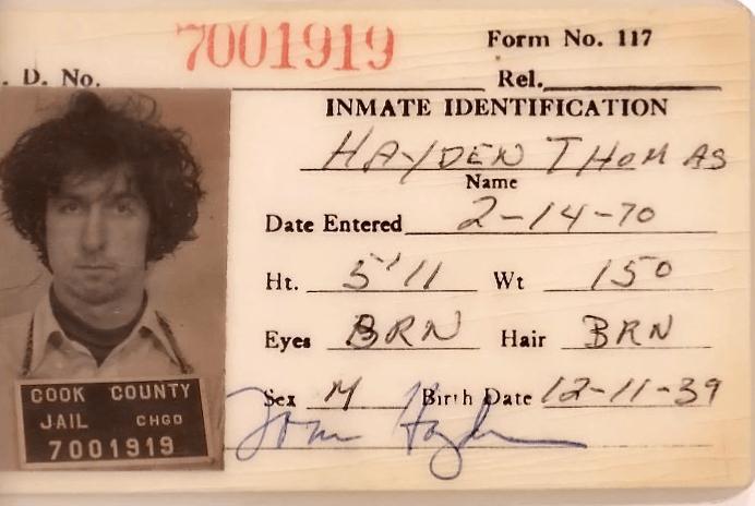 Tom Hayden ID